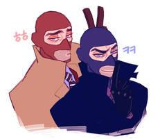 Right behind you by Gwajang