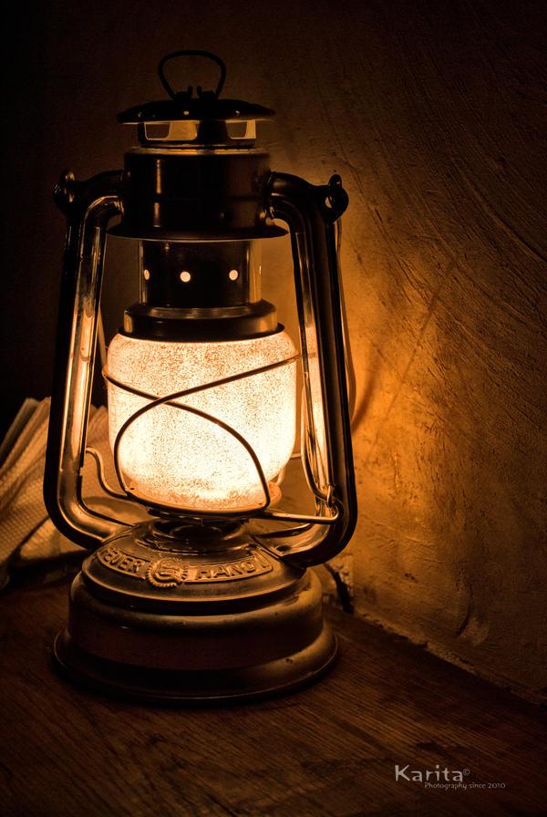 Marvelous An Old German Lamp By MaxKarita ...