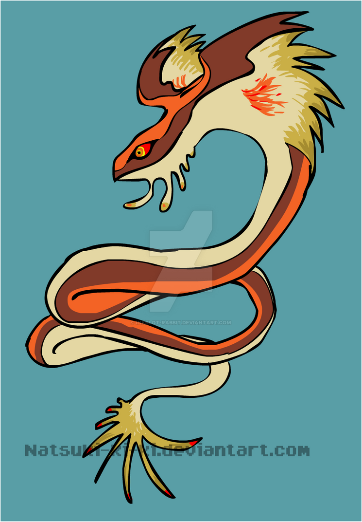 Desert Racer Snake by Inkblot-Rabbit