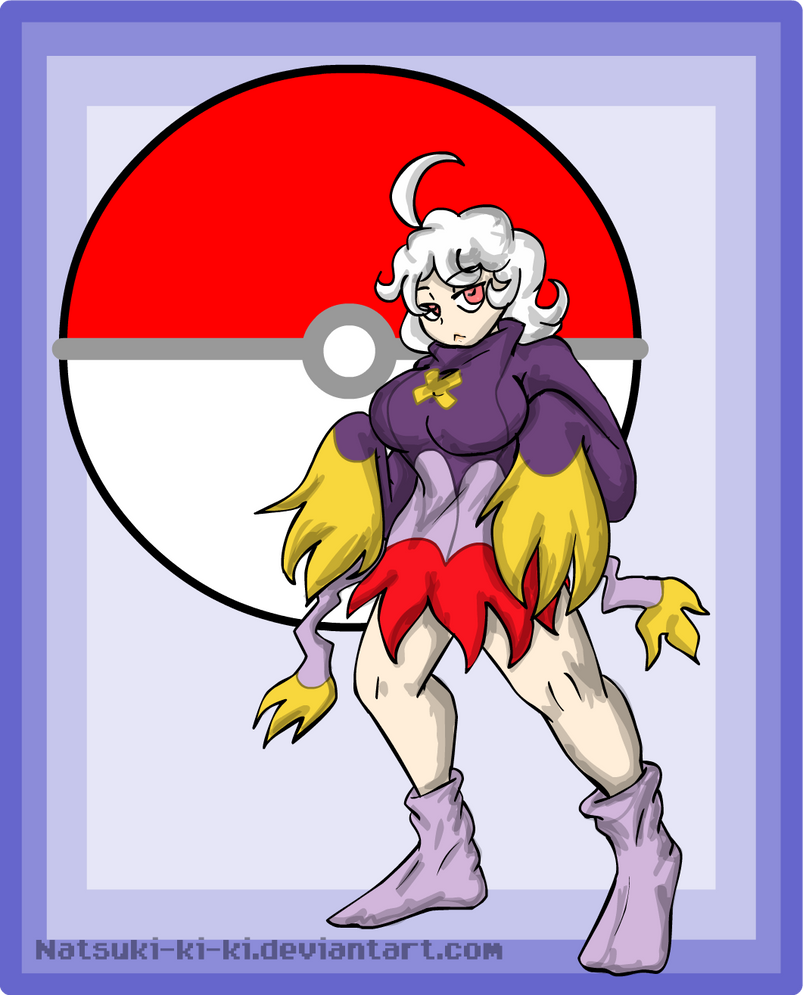 Art Trade-Drifblim Gijinka by Inkblot-Rabbit