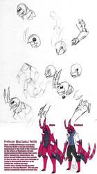Professor Alba Samsa by Inkblot-Rabbit