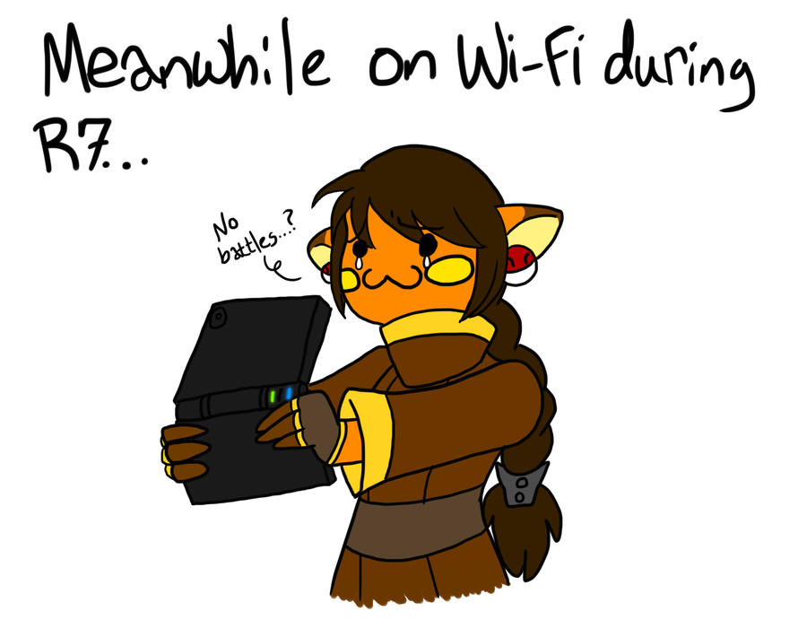 BFOI-MEANWHILE ON WIFI by Inkblot-Rabbit