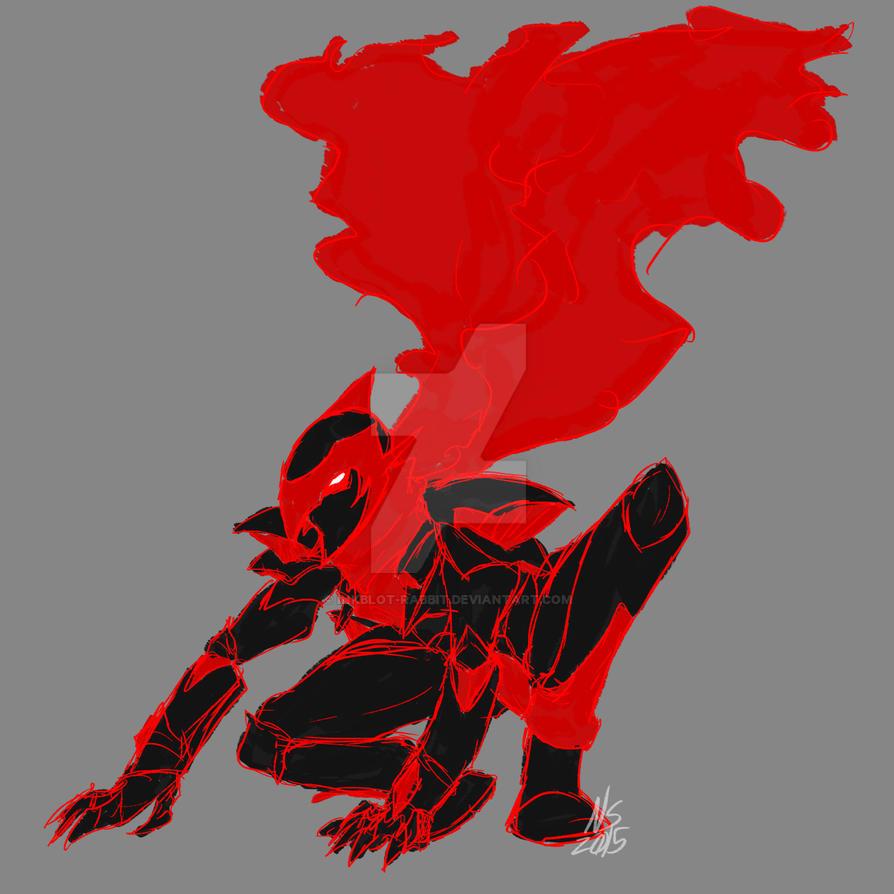 Knightblazer Sketcheroo by Inkblot-Rabbit