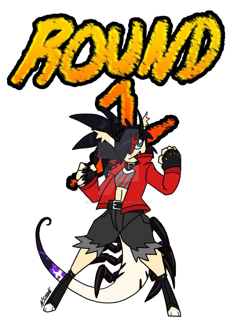 ROUND 1 by Inkblot-Rabbit