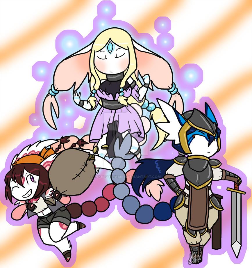 Dungeon-Crawling Dreamy-Dames! by Inkblot-Rabbit