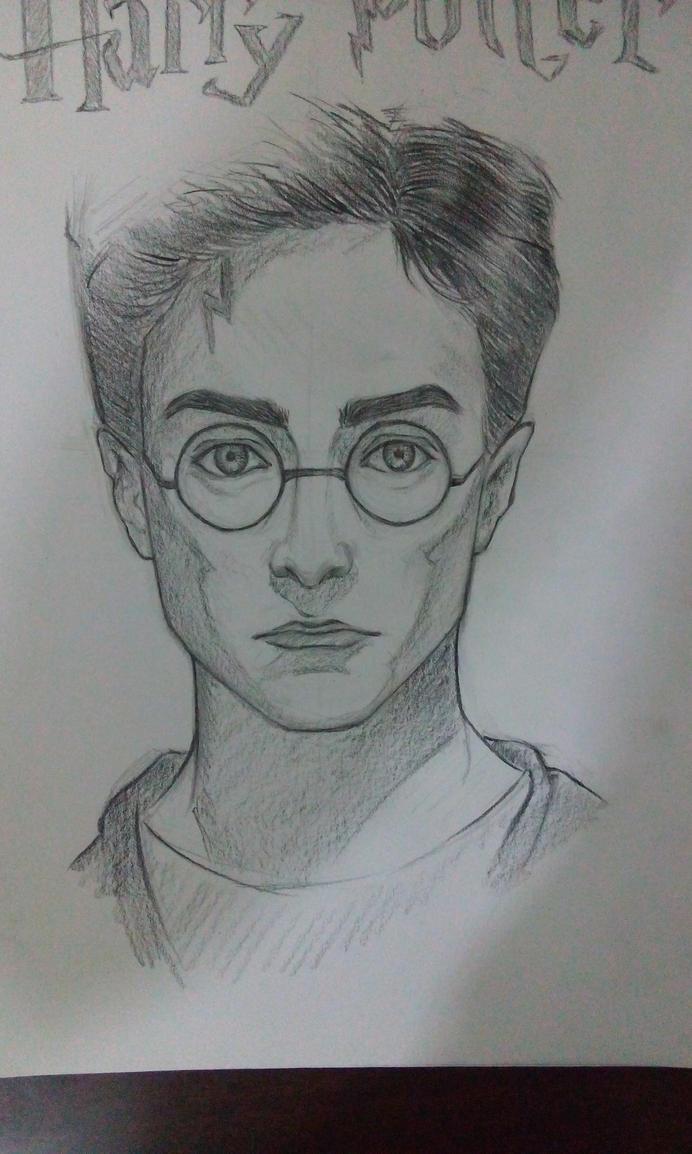 Harry Potter Portrait by Eyad-mangafreak
