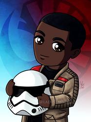 Little Ex-Stormtrooper by ladystarsocks