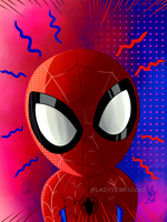 Little Spidey Sense by ladystarsocks