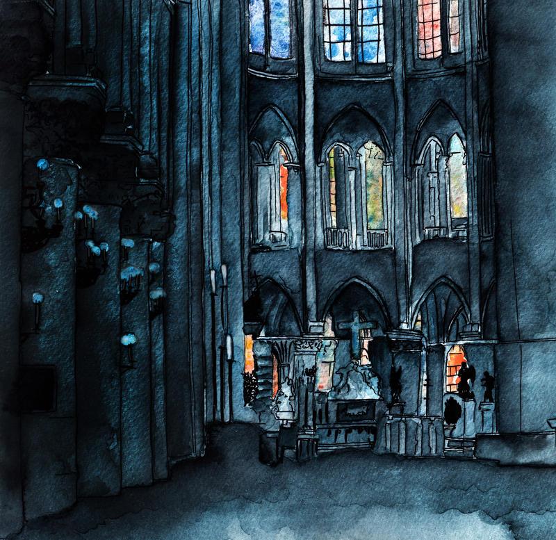 Notre-Dame de Paris by Lyczka
