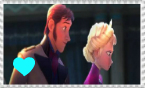 Frozen - Hans and Elsa stamp by XxXLovelyKitty15XxX