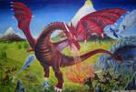 Dragon Fight by dchmelik