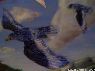 Dragon Fight: rukhs closeup
