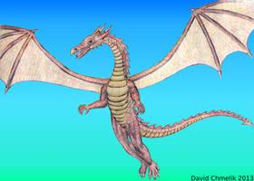 Flying Dragon by dchmelik
