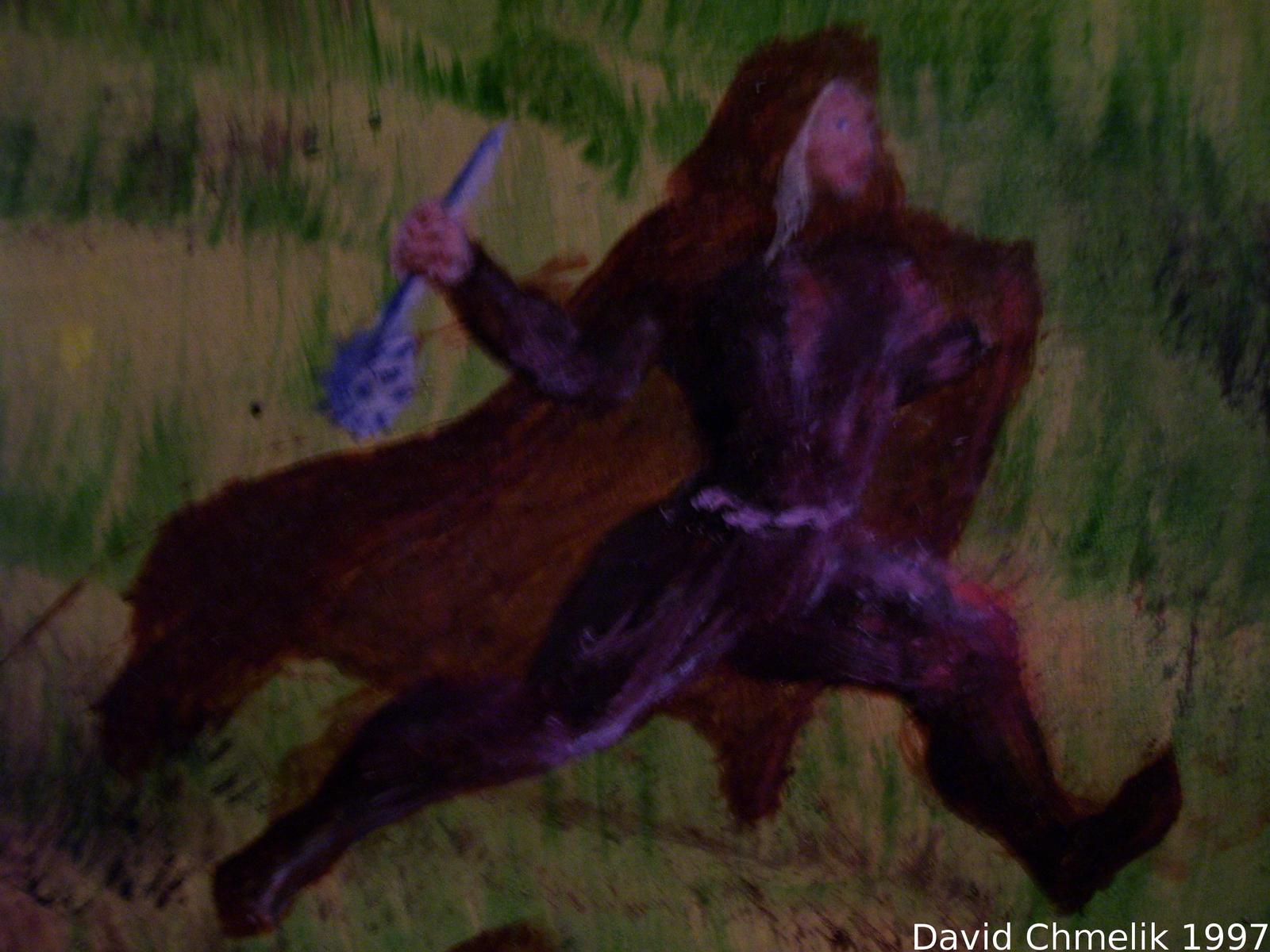 Dragon Fight: Valeria closeup by dchmelik