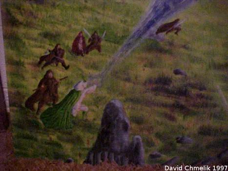 Dragon Fight: humans closeup