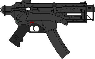 Fallout 3|NW_10mm SMG by Basalt312