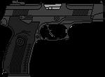 Yarygin's pistol `Grach`