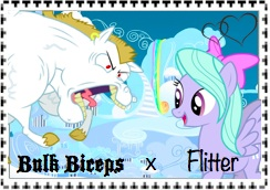 Bulk biceps x Flitter stamp by Luff14