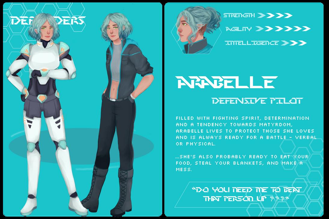 RIKITAKE 043 DEFENDERS: Arabelle by xinseo