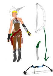 Rikku DS: Archer by HeavenlyAnimeAngel