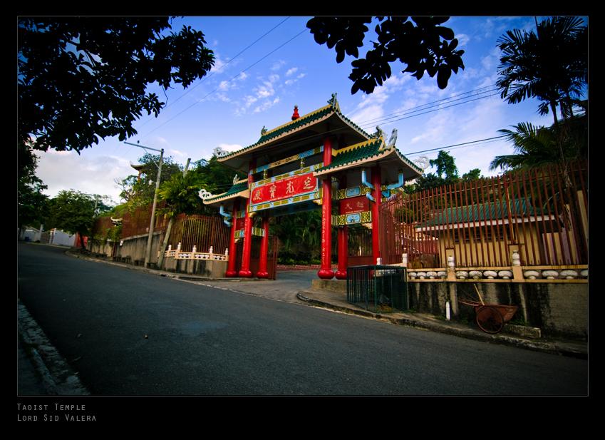 Taoist Temple by dj-dark