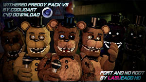 (Cinema4D-FNAF2) Withered Freddy v5 Pack C4D DL by LagueadoHDYT