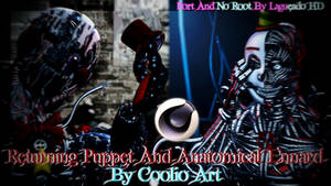 (Cinema4D-FNAF) RPuppet And AEnnard C4D Download by LagueadoHDYT