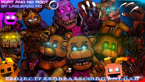 (Cinema4D-Especial) Project Fredbears C4D Download by LagueadoHDYT