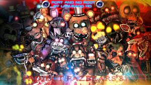(Cinema4D-Especial) Project Fazbears 87 C4D DL by LagueadoHDYT