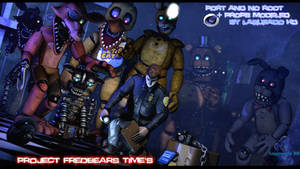 (Cinema4D-Especial) Project Fredbears Times C4D DL by LagueadoHDYT