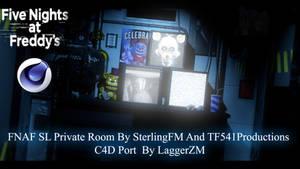(C4D-Ports) FNaFSL Private Room C4D Download