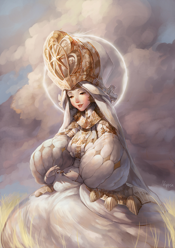 Priestess by Noxypia