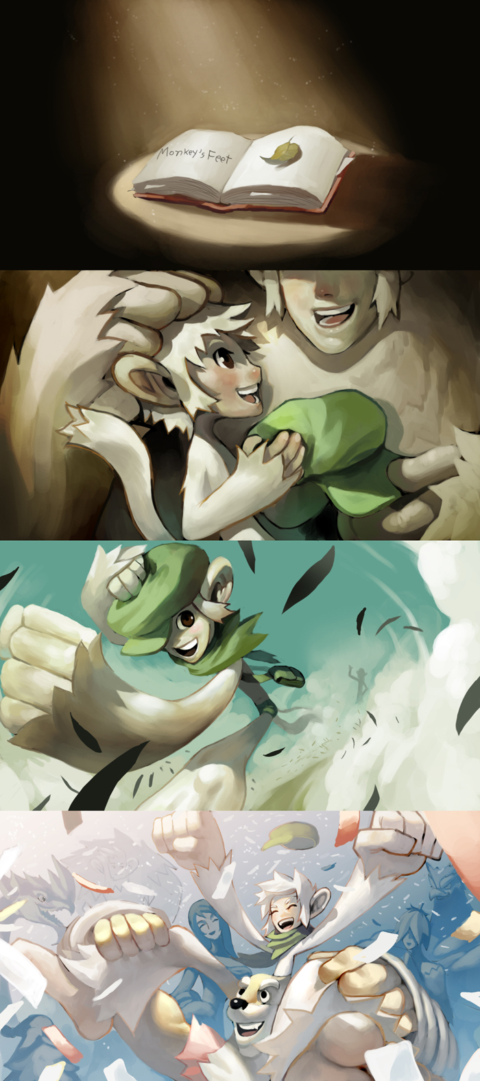 Monkey's Story by Noxypia