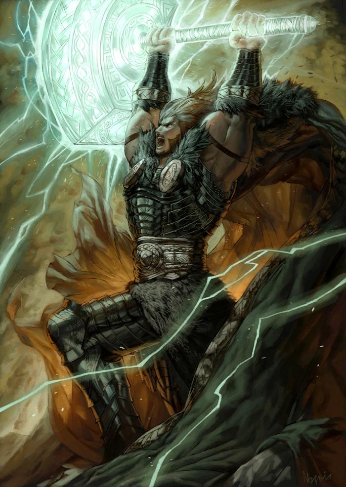 Thor, the God of Thunder by Noxypia on DeviantArt