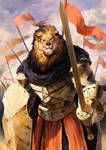 Karn, the Commander of Black Wood