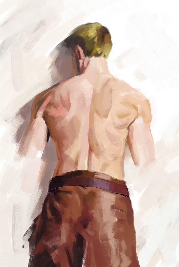 The Back Study by Noxypia