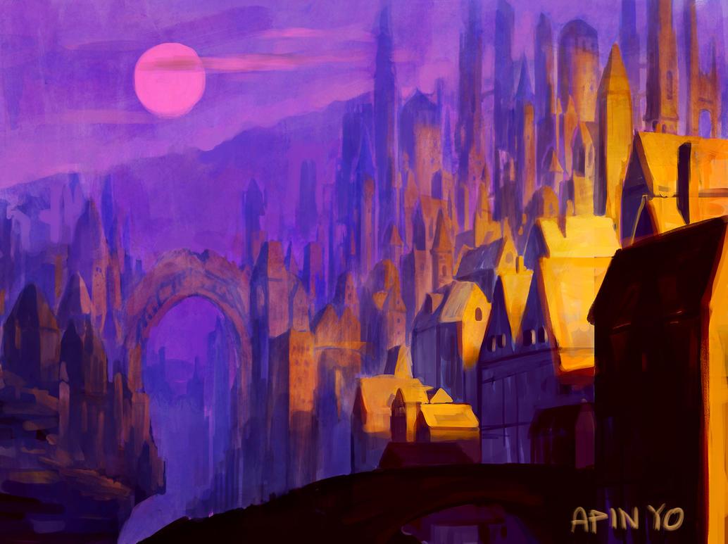 City of Dawn by Noxypia