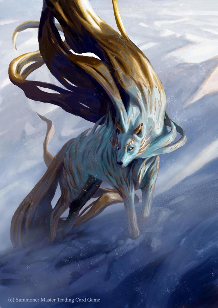 Empress Silver Wolf by Noxypia