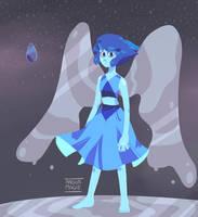 Lineless Lapis [Steven Universe] by AngiaMagie