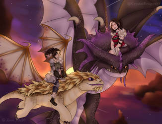 #Ridersona - 2 - //Collab with Crystal Dragon by Shiroi-Zoey099