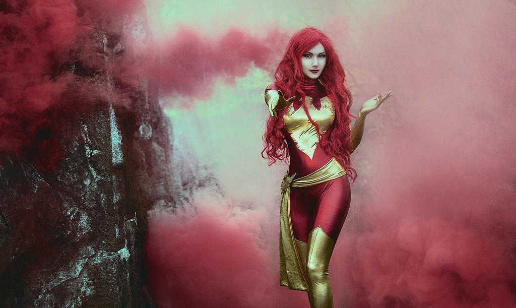 Dark Phoenix by Lady-I-Hellsing