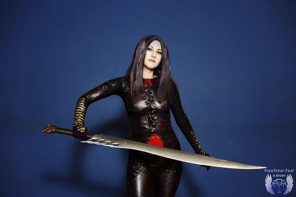 Illyria cosplay by Lady-I-Hellsing