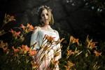 In flowers by Lady-I-Hellsing