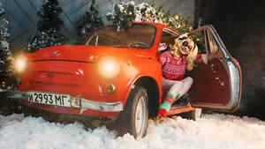Christmas Harley