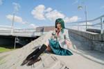 Tsuyu Asui cosplay