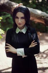 Wednesday Addams cosplay