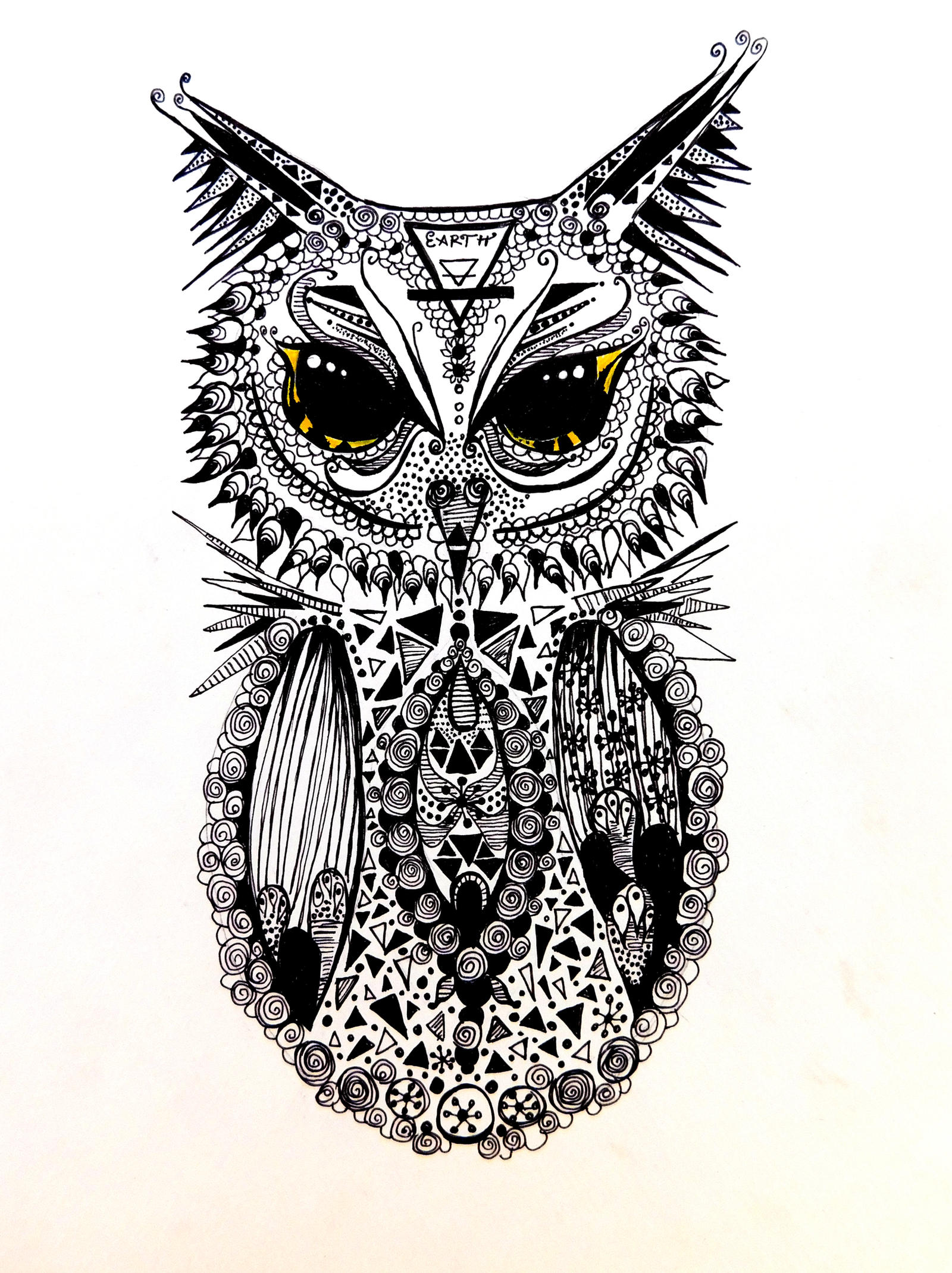 mandala owl by inspirationdraw mandala owl by inspirationdraw