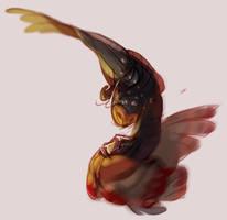 Owl Combat by aignavus