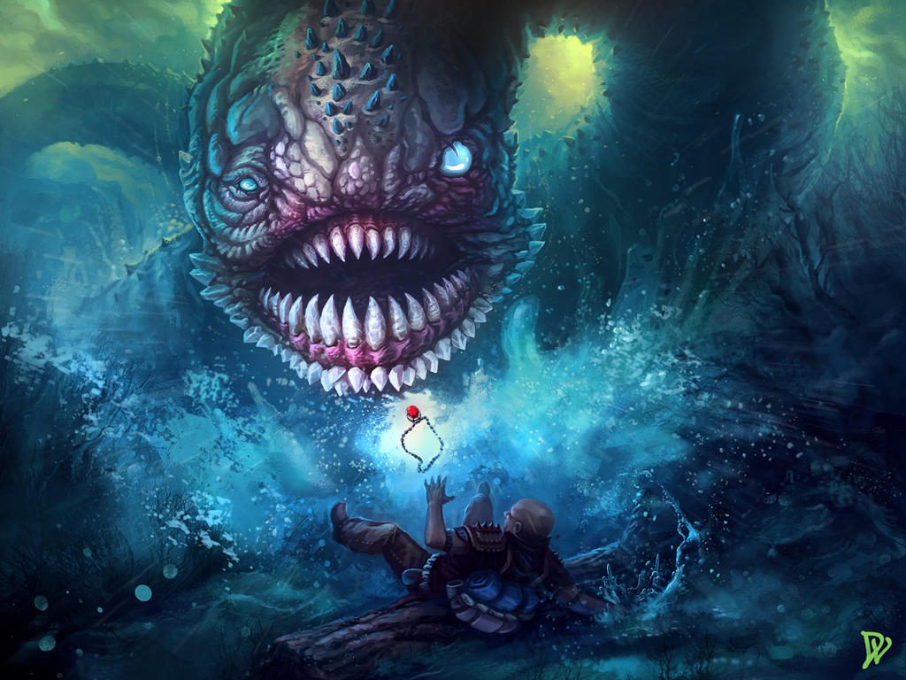Giant Worm Attack By Dlincoln83 On Deviantart