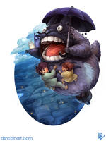 Totoro by dlincoln83